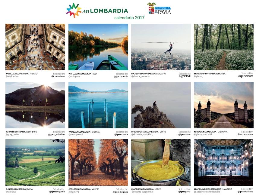 Immagine del Calendario inLombardia 2017