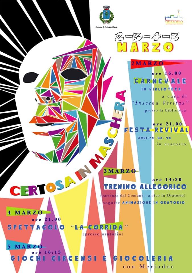 Certosa in Maschera 2019