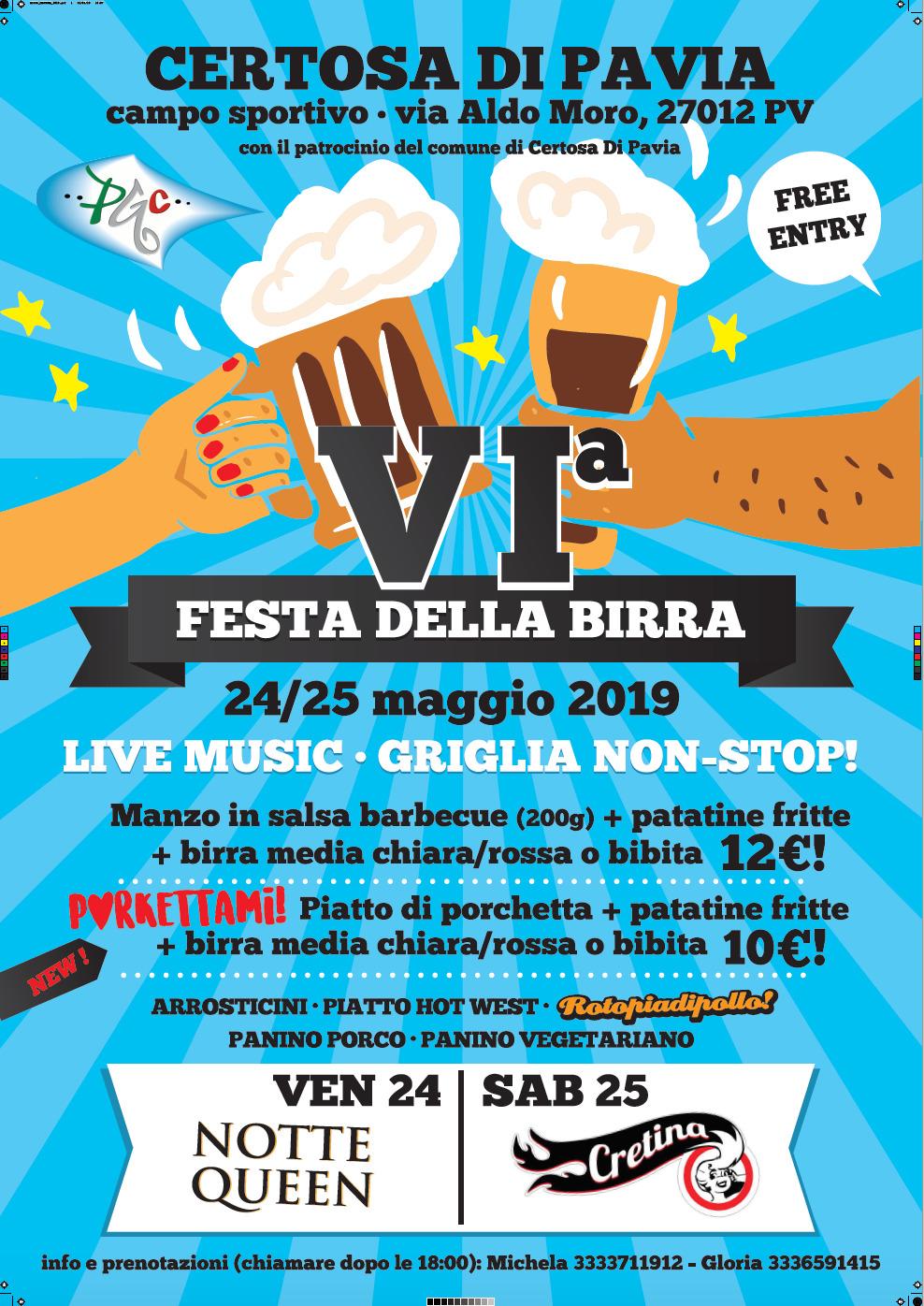 Festa della Birra 2019 - Certosa di Pavia
