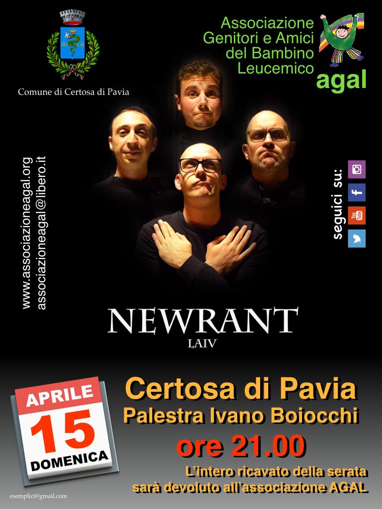 Newrant - 15 aprile 2018 - Palazzetto dello Sport Certosa di Pavia