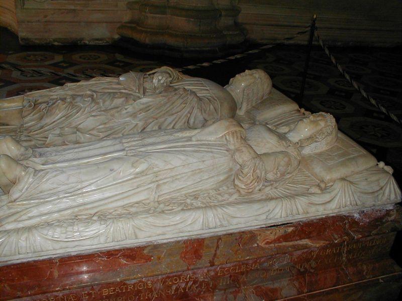 Il cenotafio di Ludovico il Moro e di sua moglie Beatrice d'Este