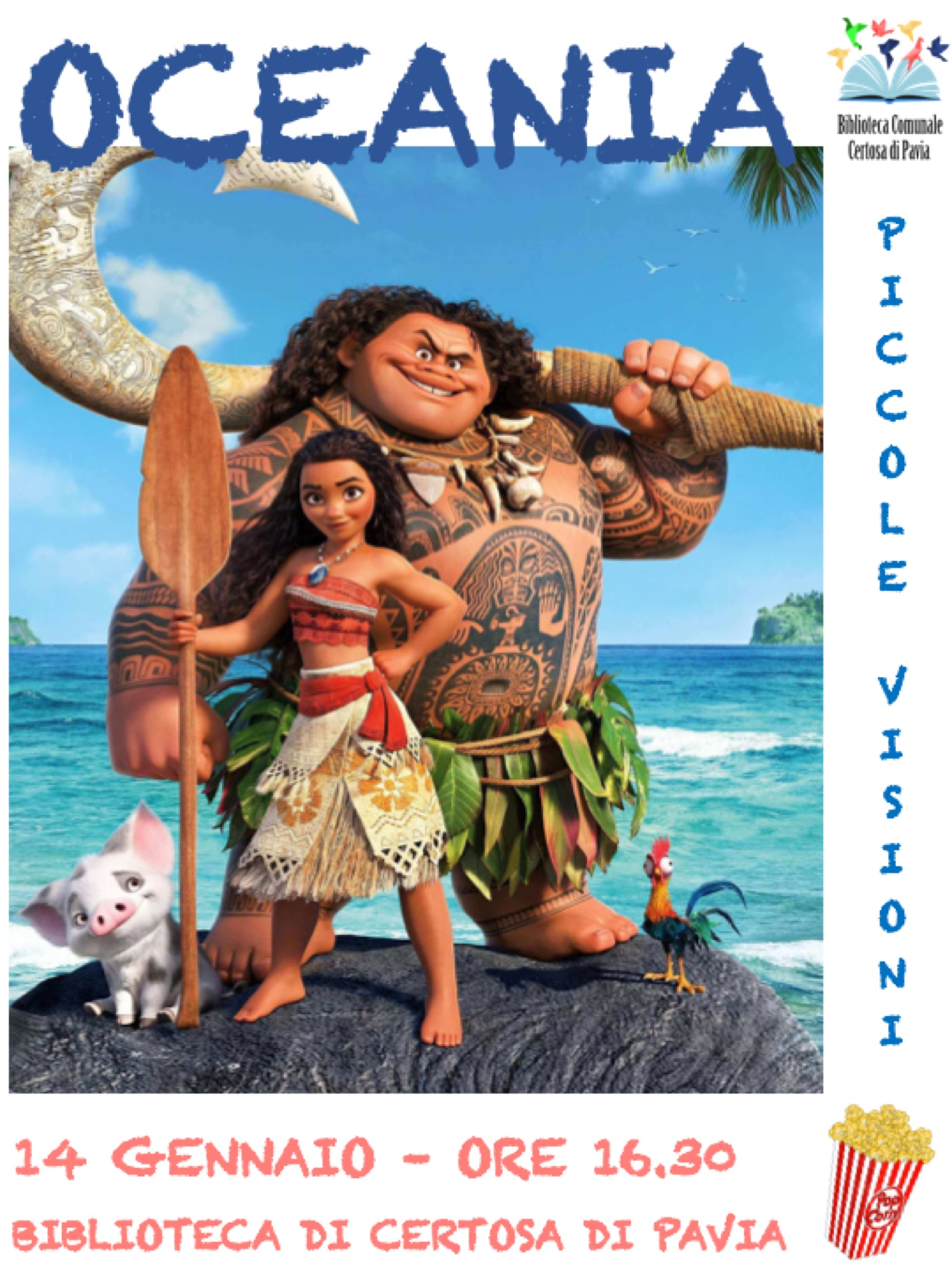 Cineforum bambini del 14 gennaio 2018