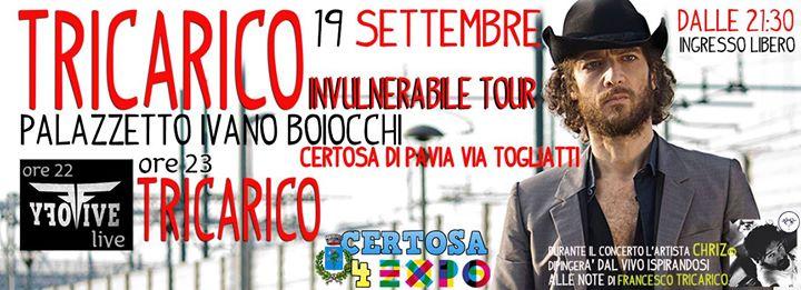 Concerto di Francesco Tricarico - 19 settembre 2015